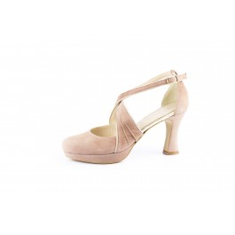 Olimpia Malva elegante sandalia de fiesta