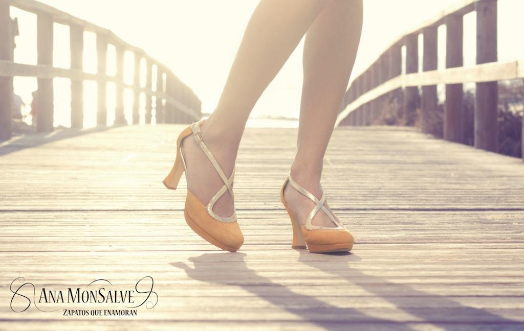 irene zapato bailar salsa