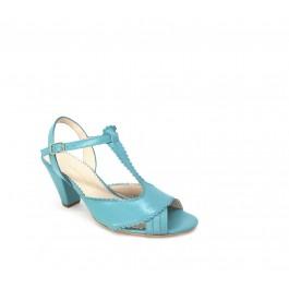 Dorothy Milos femenina sandalia vintage