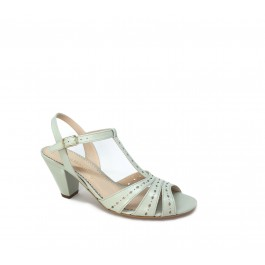 Manuela Mint femeninas sandalias vintage