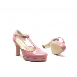 Pili Siena sandalia vintage con plataforma