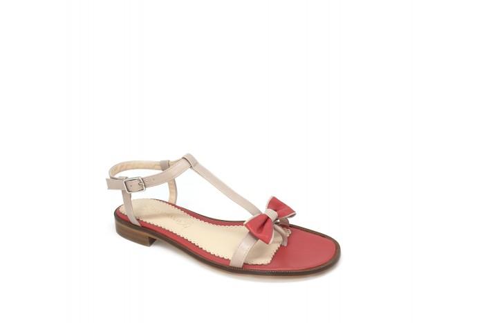 Juana Bison & California sandalia de tiras