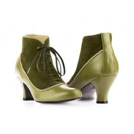 Aurora Kiwi botines vintage