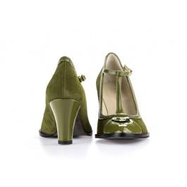 Francia kiwi zapato retro