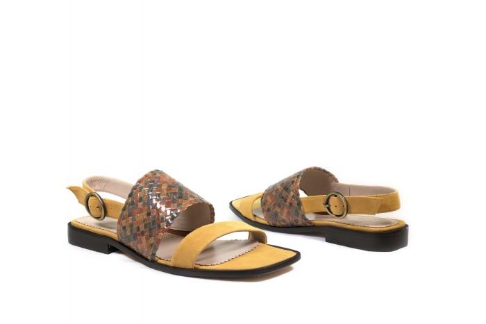Vera Maíz estilosa sandalia