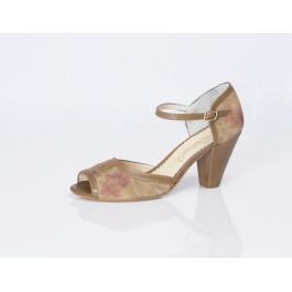 Dominique Tierra Flor zapatos vintage mujer