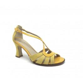 Isabel Girasol elegante sandalia de tacón