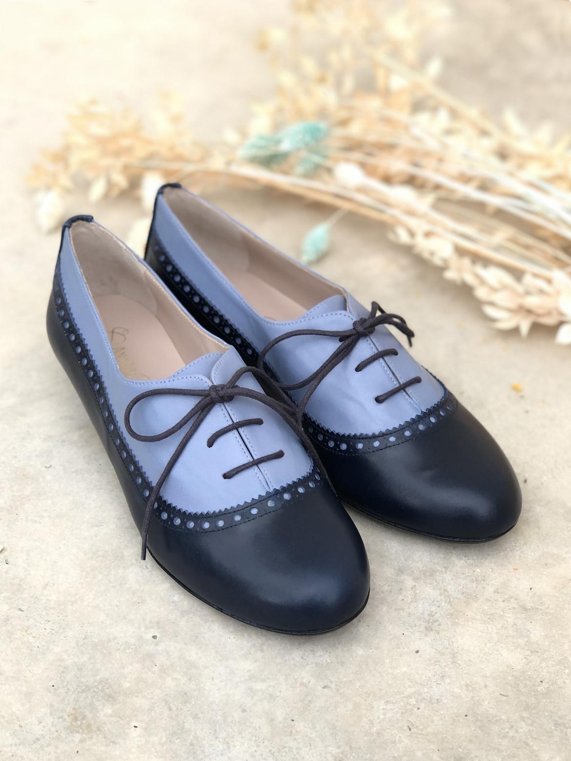 Zapatos color marino